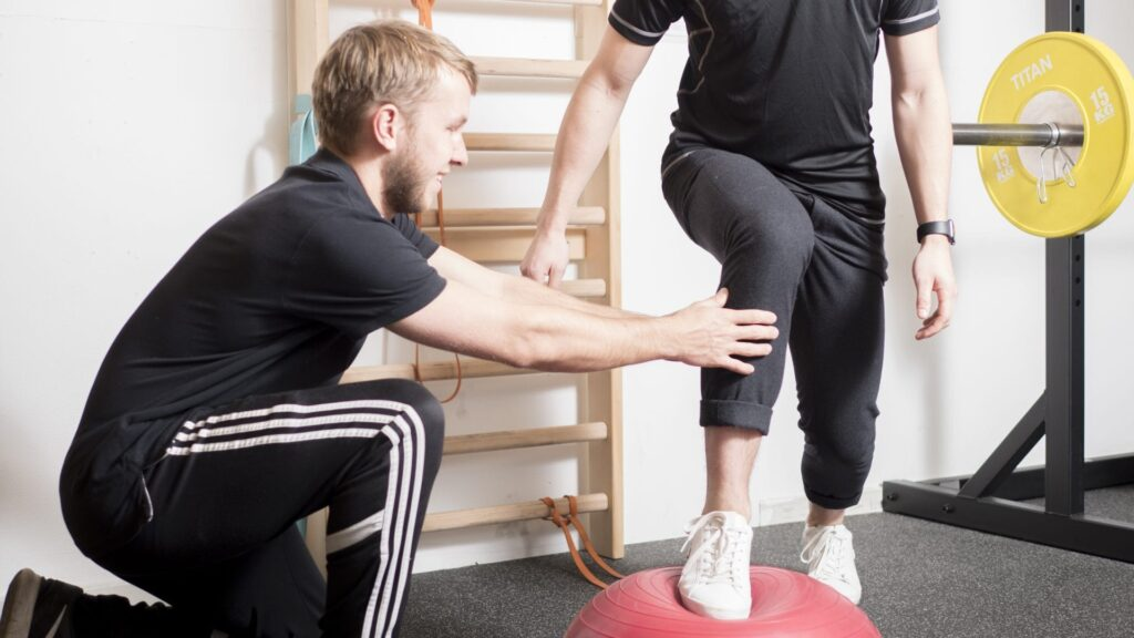 Balancetræning med fysioterapeut