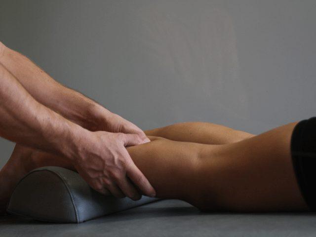 Massage af lægmusklen