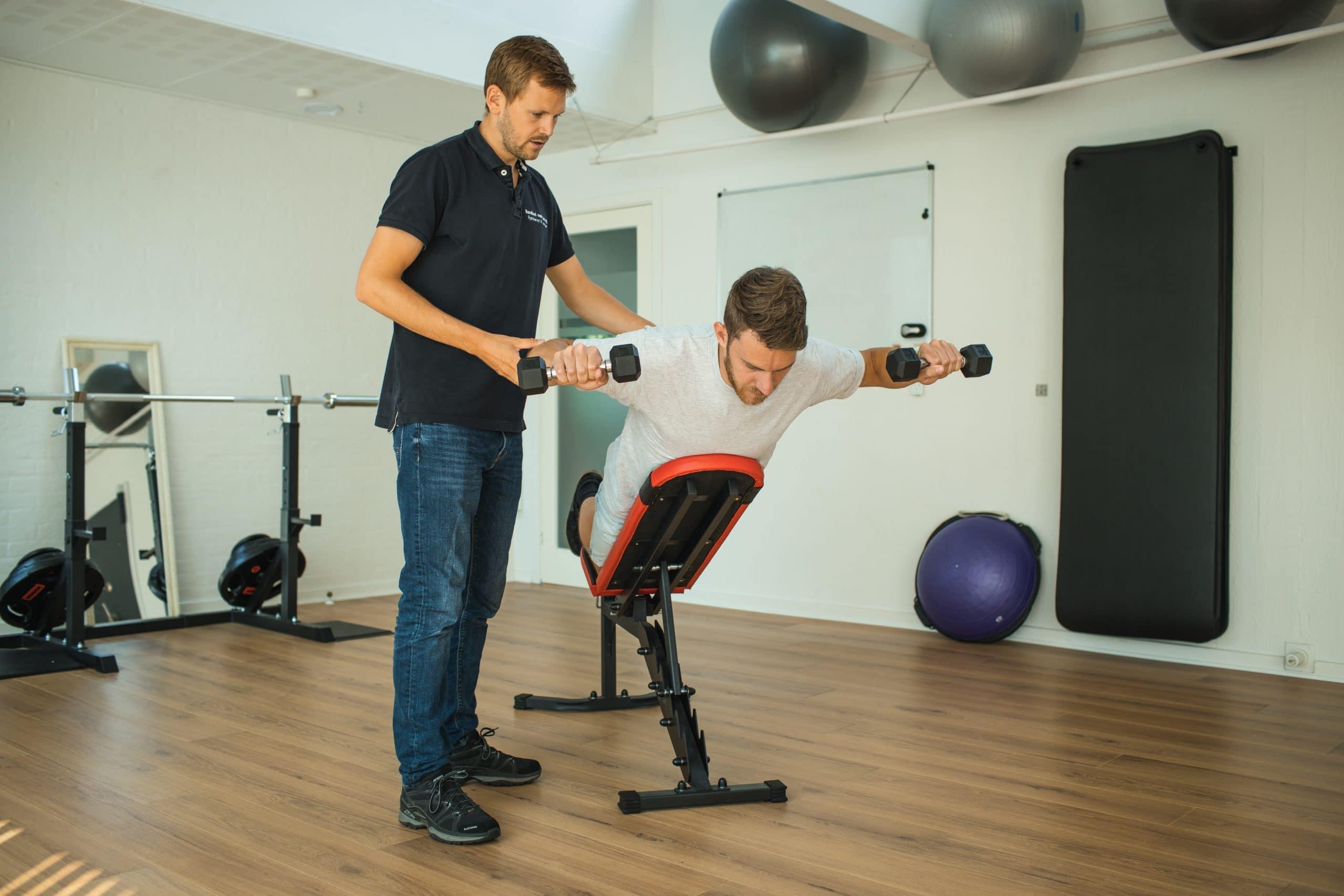 Træning hos Sundhed Med Mening