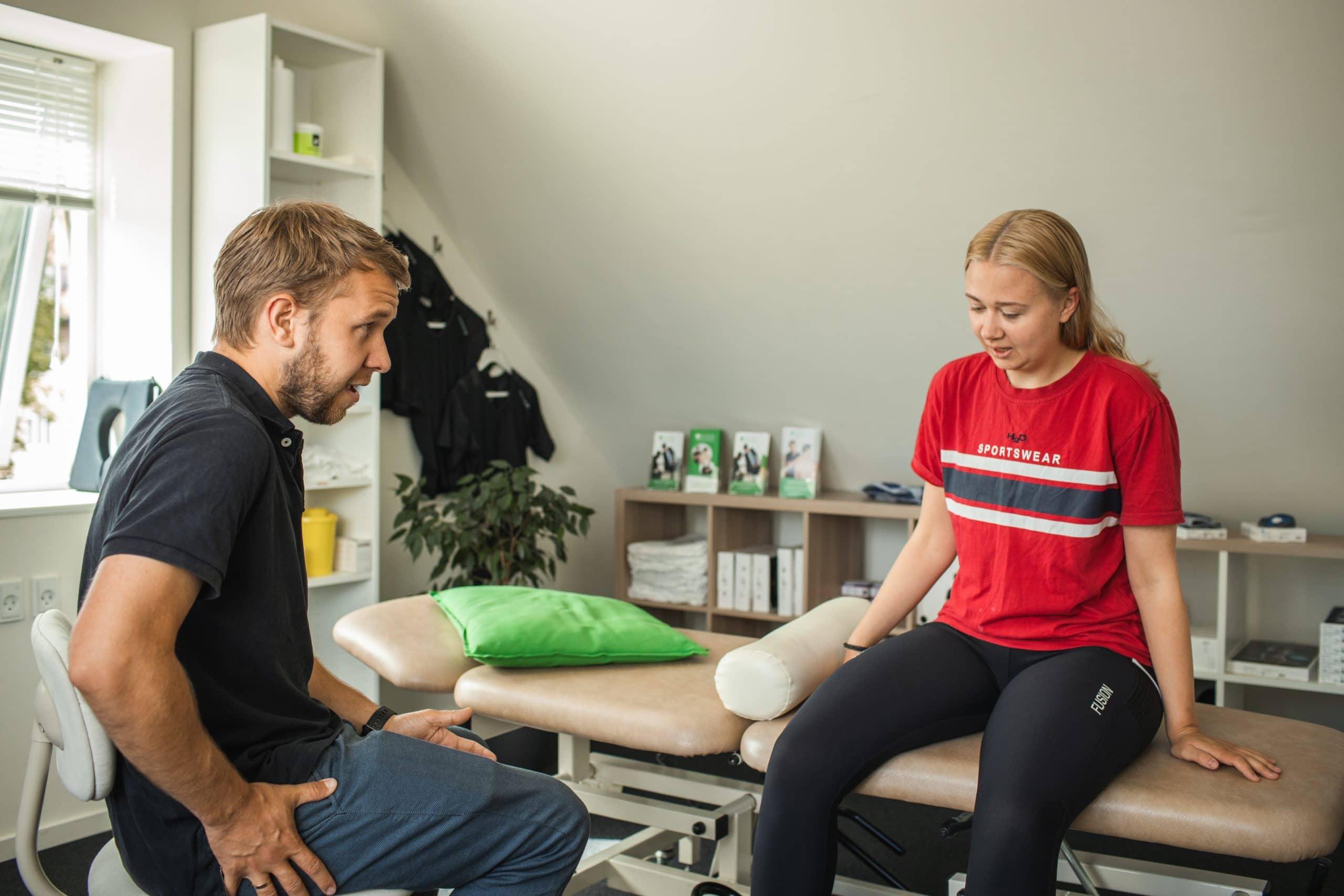 Massage ved Sundhed Med Mening